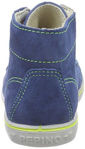 Ricosta Zayti - Zapatillas altas Unisex Niños Azul - Blau (petrol 149)