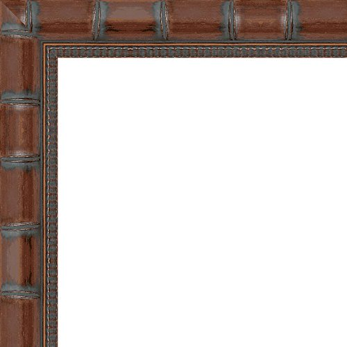 24x36 Wide Brown 'Bamboo' Solid Wood Frame - Great for Posters, Photos, Art Prints, Mirror, Chalk Boards, Cork Boards and Marker Boards by FramingSPORTS