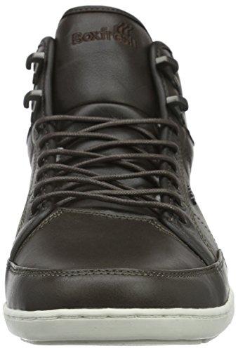 Blok Uh Lea Alte kha Prem Sneaker Swapp Uomo Boxfresh Brown fIxwPtEqn