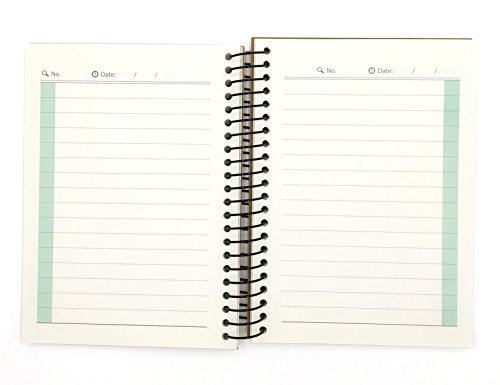 Small Spiral Notebook, 240 Lined Pages, A6 Size Wide Ruled Paper ...