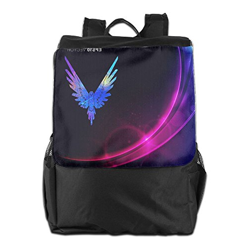 Backpack Of The Maverick Logo, Logan Paul Logang YouTube Followers Parrot Icon 3 Black One Size