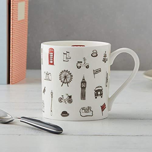 Simply London Mug- Made in Britain of Fine Bone China