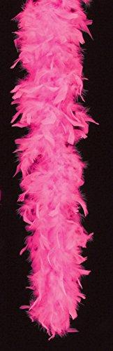 Loftus International Extra Long Fluffy Feather Boa Hot Pink One Size (72'') Novelty Item by Loftus International (Image #1)