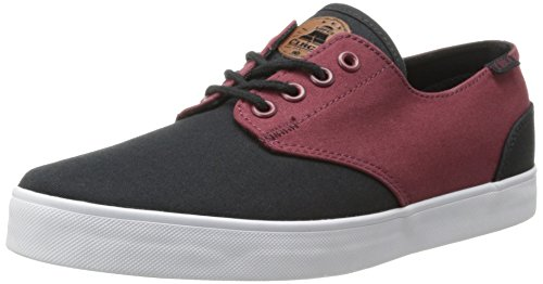 C1RCA Men's AL13 Fashion Sneaker,Oxblood/Black,11 M (C1rca Footwear Sneakers)
