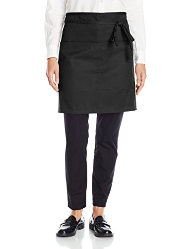 Uncommon Threads Unisex  Half Waist Apron, Black, One Size