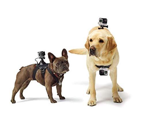 Techna Mx Arnés para Perro Todas Las Razas Correa de Pecho de Montaje Fetch Dog Harness para GoPro Hero 1 2 3 3+ 4 5 6 7,...