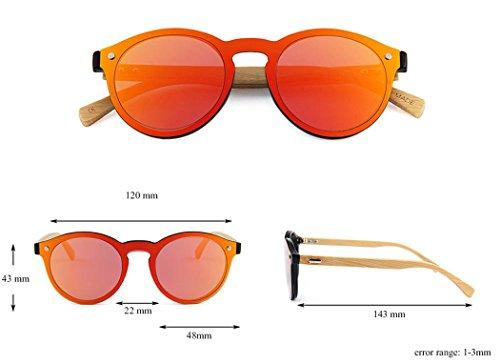 Eyewear Soleil de Conduite Soleil Fansport de pour Lunettes Protection Lunettes de Soleil Hommes UV Lunettes Femmes de Red q8gXF