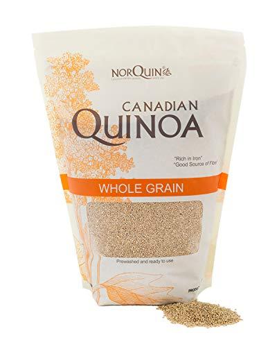 NorQuin Golden Quinoa, 4 Pound, Whole Grain, Gluten Free, Kosher, Non GMO, Plant Based Complete Protein, Prewashed Ready to Cook