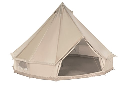CanvasCamp Sibley 500 Ultimate Pro - 100% Cotton Canvas Bell Tent for Camping or Glamping