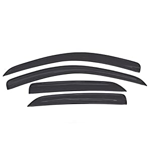 Auto Ventshade 894030 Low Profile Dark Smoke Ventvisor Side Window Deflector, 4-Piece Set for 2013-2018 Buick Encore