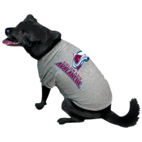 NHL Colorado Avalanche Pet T-Shirt, Team Color, X-Large