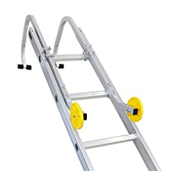 Sotech Ladder Roof Hook with Wheels, Uni...