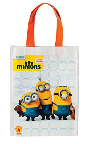 Rubie's Costume Minions Trick-or-Treat Canvas Bag Costume ()