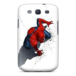 AWwIQ8205kjKFv Anti-scratch Case Cover EnjoyTime Protective Spiderman Case For Galaxy S3
