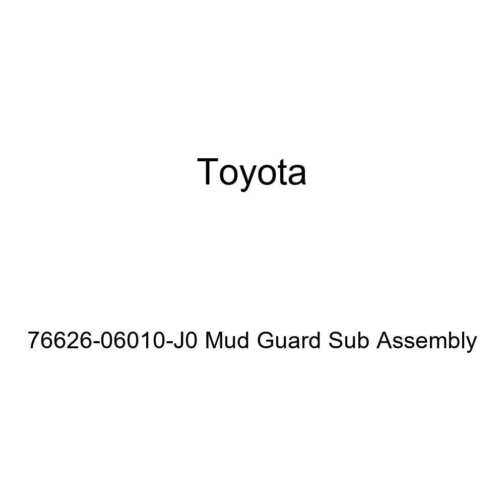 TOYOTA Genuine 76626-06010-J0 Mud Guard Sub Assembly