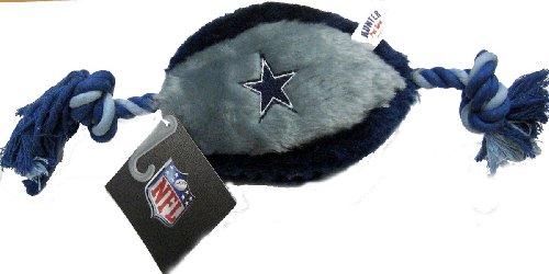 Dallas Cowboys Rope Plush Dog Toy, My Pet Supplies