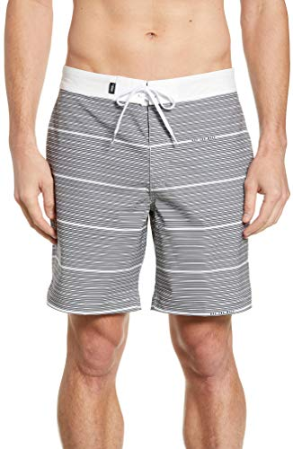 Vans Mens Back Patio Board Shorts White/Tan/Black VN0A3W4AWHT (31W)