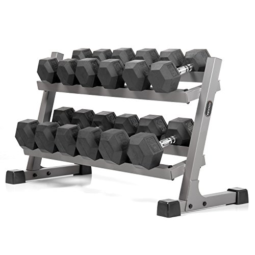 35 lbs dumbell rubber - 8