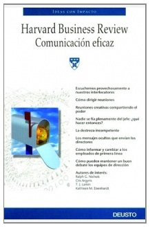 Comunicacion Eficaz/ Effective Communication (Ideas Con Impacto) (Spanish Edition) PDF