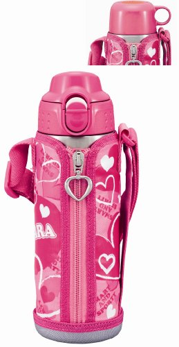 Stainless Steel Bottle Tiger Sahara 2way Pink 0.5l Mbp-a050-p Japan Import by Tiger