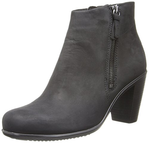 Short Women's ECCO Touch Black Boots 75B vWatUTnwq