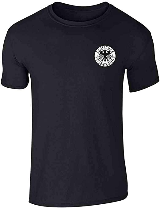 Germany T shirt Jersey Soccer Futbol Sports Crest Country Pride Mens T-Shirt