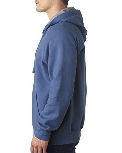 Hanes Men Nano Premium Lightweight Full Zip Hoodie_Vintage D