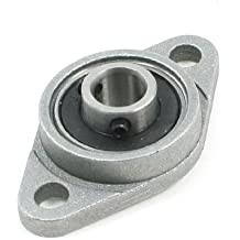 uxcell FL08 8mm Bore Self-aligning Flange Ball Bearing