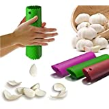 Drhob 1pcs HOT Magic Silicone Garlic Peeler Peel Easy Useful Kitchen Tools Color Random