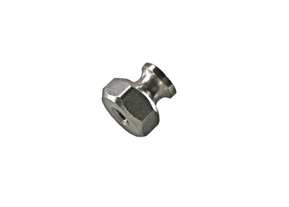 UNICORP THN5014-M09-F16-1024 1//2 Hex Thumb Nuts Without Knurl Stainless QTY-100 10-24 THD x 1//2 OD