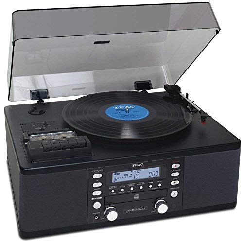 Teac LP-R550USB Cd Recorder with Cassette Turntable (Best Cassette To Cd Converter)