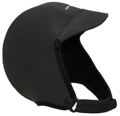Hyperflex Wetsuits Men's Hood Squid Lid, Black, Medium - Surfing, Windsurfing & Wakeboarding