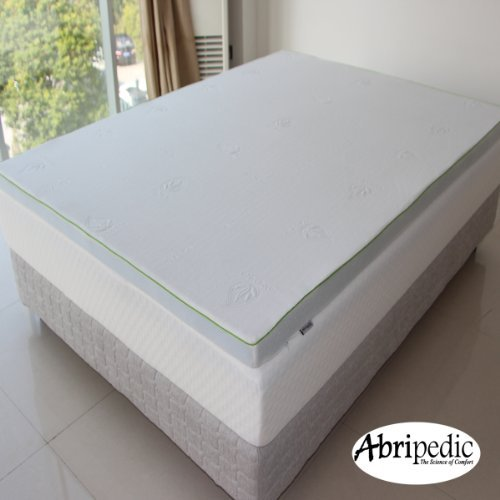 Abripedic 2.5'' Thick Gel Memory Foam King Mattress Topper 3-Year Warranty by Royal Hotel by Abripedic