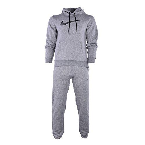Nike Tuta Cotone Felpato Club Swoosh Colore Nero TG S Tracksuit …