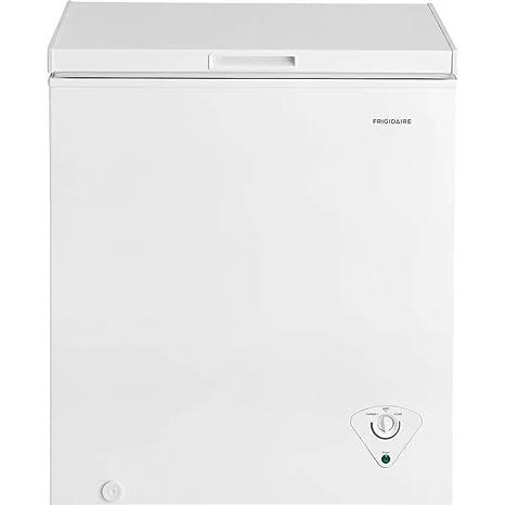amazon com frigidaire fffc05m1tw 5 cu ft chest freezer appliances rh amazon com Frigidaire Gas Range Manual Frigidaire Gas Range Manual