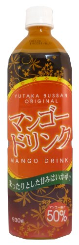 50 percent fruit juice drinks (mango ? 930g) by Yutaka Bussan