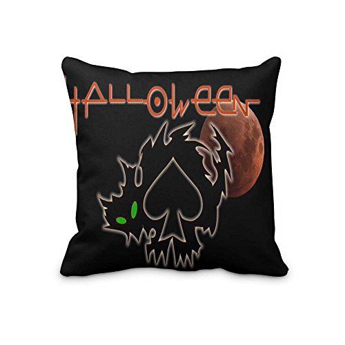 Laura Bunyan Holiday Halloween Pillowcase Covers,decorative cushion cover pillowcase for sofa inch(2 Sides) -