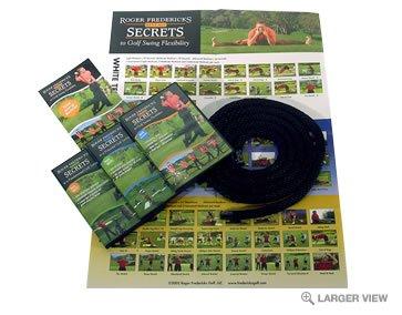 Roger Fredericks Golf DVD's Flexibility Secrets aj -