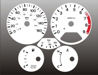 nissan 300zx turbo interior parts - 3