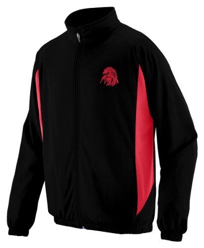 Augusta Sportswear MEN'S MEDALIST JACKET S Black/Red Photo #4