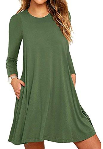 Les Robes De Soirée Des Femmes Omzin 2-vert