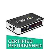 Kinivo 501BN 5-Port High Speed 4K 30Hz HDMI Switch With IR Wireless Remote(Renewed) - For Xbox 360/One, PS4/PS3, Nintendo Switch, Blu-ray Player, Apple TV, Roku etc