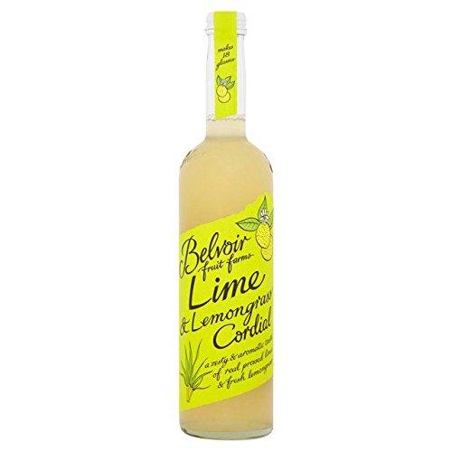 Belvoir Lime & Lemongrass Cordial - 500ml (16.91fl oz)