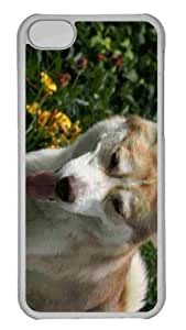 Customized iphone 5C PC Transparent Case - Summer Day 6 Personalized Cover