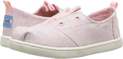 TOMS Kids Baby Girl's Lumin (Infant/Toddler/Little Kid) Blossom Slub Chambray 9 M US Toddler -