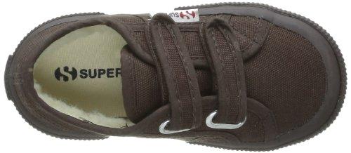 Superga 2750 Cobinvj - Zapatillas de tela para niños Marrón (Marron (Full Dk Coffee))