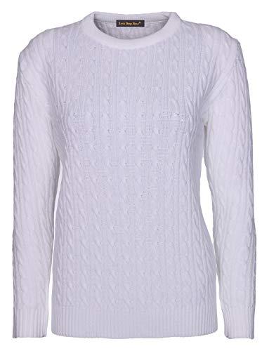 Maglione Donna Shop Lets Shop White Wwqfn0gT