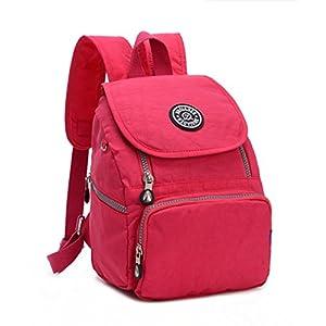 Tiny Chou Mini Waterproof Nylon Backpack Lightweight Strong Shoulder Bag