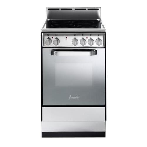 Avanti DER202BS Elite Series Deluxe Electric Ranges, 20″, Stainless Steel