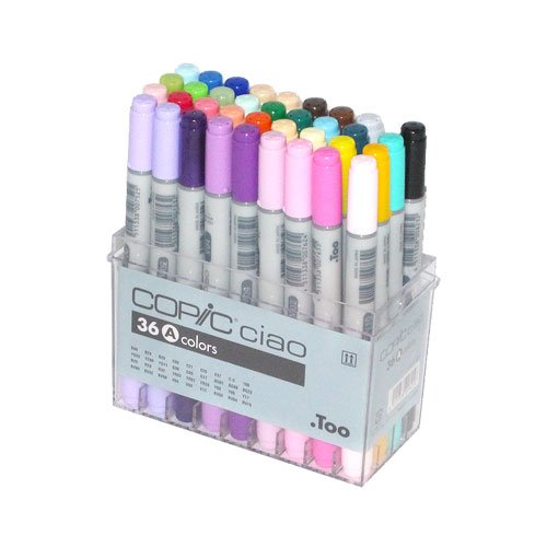 Copic Ciao Marker Set 36A Color by Copic